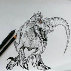 Resultado de imagen para indoraptor jurassic world 2