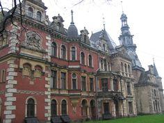 Krowiarki (woj slaskie)-palace — Foto Ctt