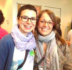 Con @Elena Crestanello al #mammacheblog 2013