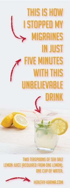 In this short article, we will present a natural, easy, yet effective drink that will make you ignore migraines. This unbelievable treatment is not something new– it was utilized for hundreds of years which is another evidence about its effectiveness.