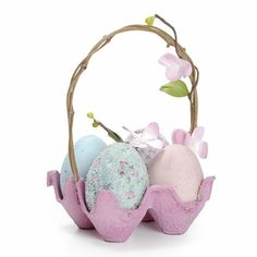 Make your own table decorations for Easter - 70 craft ideas for .- Make Easter basket from egg carton Make Your Own, Make It Yourself, How To Make, Diy And Crafts, Crafts For Kids, Summer Crafts, Fall Crafts, Christmas Crafts, Decoration Table