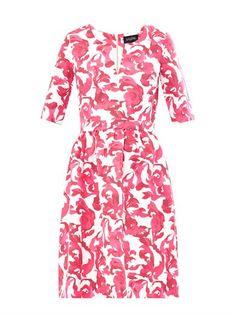 Saloni Victoria floral-print cotton-blend dress MATCHESFASHION.COM #MATCHESFASHION