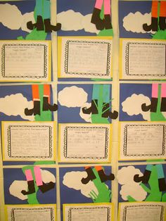 """Jack and the Beanstalk writing . Opinion piece, """"would you climb the beanstalk?"""". Incorporate into fairytales and/or plant unit of study?!"""