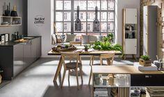Stół z szufladami (Dąb/czarny) - Nature - Typy mebli - Wnętrza VOX #vox #wystrój #wnętrze #aranżacja #urządzanie #inspiracje #projektowanie #projekt #remont #pomysły #pomysł #design #room #home #meble #pokój #pokoj #dom #mieszkanie #jasne #oryginalne #kreatywne #nowoczesne #proste #wypoczynek #HomeDecor #fruniture #design #interior #naturalne #stół