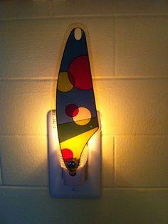 Vintage Pinball slingshot plastic Night Light by wirenot on Etsy