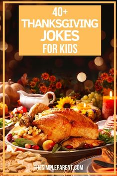 Thanksgiving Jokes for Kids. Fun clean jokes with fall, turkey, pumpkin and Thanksgiving themes to connect and laugh together. To help pass the time while you wait for Thanksgiving dinner, you can share these Thanksgiving jokes for kids with each other. Get the printable with fun jokes now! Thanksgiving Jokes For Kids, Thanksgiving Appetizers, Thanksgiving Side Dishes, Thanksgiving Recipes, Thanksgiving Traditions, Holiday Recipes, Diffuser Blends, Oil Diffuser, Side Dish Recipes