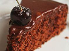 Bolo de Chocolate sem Farinha - Veja mais em: http://www.cybercook.com.br/bolo-de-chocolate-sem-farinha.html?codigo=14473