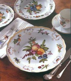 """Duke of Gloucester"" pattern from  Mottahedeh & Co., Inc."