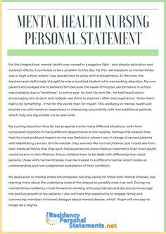 Nursing personal statement rcn customer