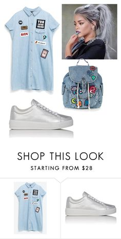 """""""Untitled #131"""" by melaninchild ❤ liked on Polyvore featuring Prada Sport and Topshop"""