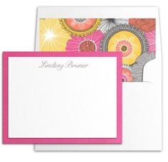 Two Layer Pink and White Correspondence Stationery by Luscious Verde Cards Wedding Invitation Design, Wedding Stationery, Personalized Stationery, Paper Crafts, Pink, Cards, Inspiration, Biblical Inspiration, Tissue Paper Crafts