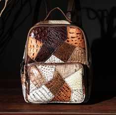 spedizione gratis Felt Art, Cobbler, Crocodile, Louis Vuitton Damier, Leather Backpack, Fashion Backpack, Notebook, Backpacks, Shoulder Bag