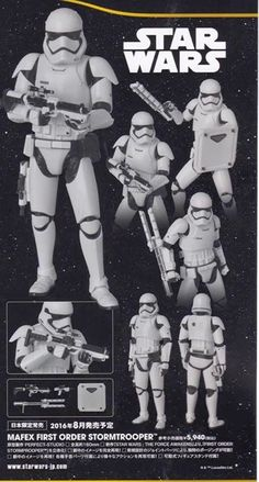 MAFEX 1st Order Stormtrooper Preview
