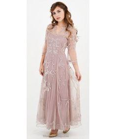 Sultry Elizabeth Wedding Dress in Amethyst by Nataya