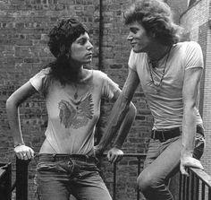 se é pra tirar da vida música, poesia, dor, prazer - sobretudo amor - que seja como Patti e Robert.