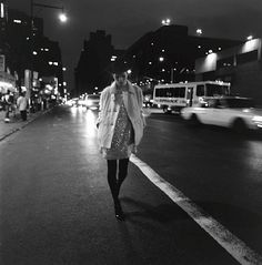 """Kate Moss NYC 1993 photographed by Glen Luchford; outtake from """"City Slick"""" Harper's Bazaar September 1994."""