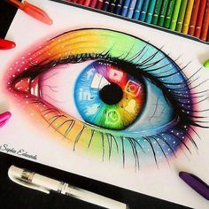 Social media eye this generations biggest addiction and what we spend most our time looking at. App Drawings, Art Drawings Sketches Simple, Pencil Art Drawings, Realistic Drawings, Colorful Drawings, Cool Drawings Tumblr, Kratz Kunst, Social Media Art, Eyes Artwork