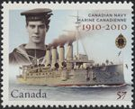 Canadian Postal Archives Database    Postal Administration: Canada     Title: HMCS Niobe     Denomination: 57¢     Date of Issue: 4 May 2010