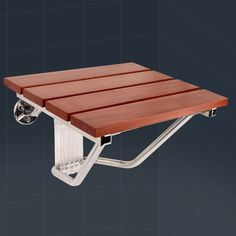 38.65$  Watch here - http://alid5f.shopchina.info/go.php?t=32713295913 - wall chair wall seat Solid wood folding shower seat spacing saving wall mounted morden seat relaxation  #bestbuy