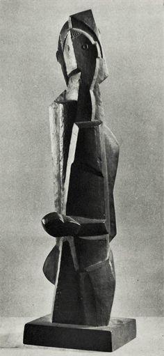 Henri Laurens - Le Grand Poseur, ca. 1920