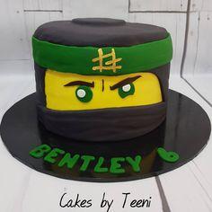 1st cake for 2018 was a Lloyd ninjago cake  to celebrate Bentley's 6th birthday  #ninjago #lego #lloydninjago #6thbirthday #cakesofinstagram #instacake #cakesbyteeni
