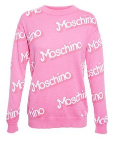 MOSCHINO - Barbie Cotton Sweater