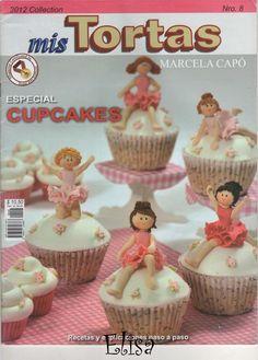 Mis tortas bailarinas 2012 marcela capo  CAKES DESIGN