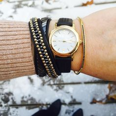 Fashionably late? Not anymore! Stay perfectly punctual with one of our 4 trending timepieces and a little arm party this season. #stelladotstyle by @mary__pru
