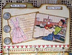 vintage mini recipe book