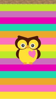 Cute Owls Wallpaper, Hello Kitty Wallpaper, Iphone Background Wallpaper, Cute Disney Wallpaper, Locked Wallpaper, Cellphone Wallpaper, Pattern Wallpaper, Owl Background, Beautiful Wallpaper