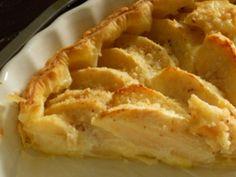 Tarte aux pommes normande de Mag (16ème rencontre Marmiton) - Recette de cuisine Marmiton : une recette