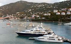 Luxury Yacht Insurance for the Caribbean from W. R. Hodgens Marine Insurance of Fort Lauderdale, Florida.