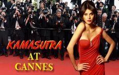 Kamasutra3D was shown at the 66th Cannes International Film Festival with the actress, Sherlyn Chopra and the director, Rupesh Paul