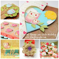 Stamping Rules!: Owl Always Love You Workshop