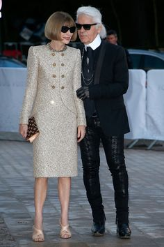 """Want proof that there's a pure, beautiful friendship between Karl Lagerfeld and Anna Wintour? At the British Fashion Awards earlier this week the editrix revealed that the designer gave her the ultimate gift. """"Karl was..."""