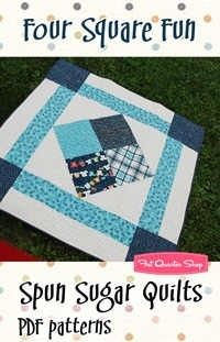 This is the pattern that my sister is using to make my Strawberry Shortcake quilt.