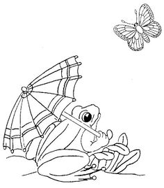 113 best Frog Coloring images on Pinterest   Coloring pages ...