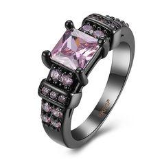 Rhinestone Vintage Square Ring #women, #men, #hats, #watches, #belts, #fashion, #style