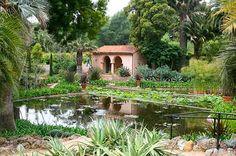 Lotusland in Montecito, CA