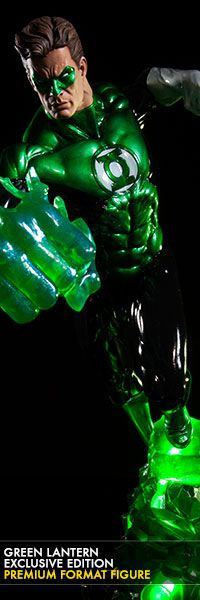 Green Lantern Premium Format Figure  $349.99!  Click on the picture link to see more details and to pre-order now!