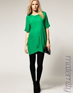 Although I love my pre-pregnancy clothes I could never find nice stuff to wear when I was pregnant......love this!