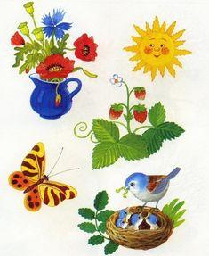 nyár Preschool Education, Fine Motor, Kids And Parenting, Summer Beach, Rooster, Clip Art, Seasons, Teaching, Activities