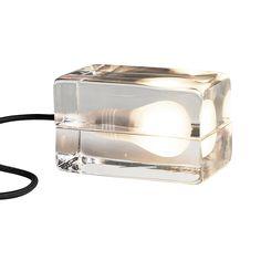 Block Lampe Sort Ledning 1483 kr. - RoyalDesign.dk