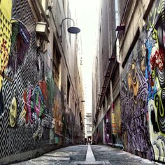 Lanes of Melbourne