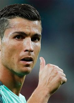 Portugal's Cristiano Ronaldo gestures during the Euro 2016 semifinal soccer… Cr7 Portugal, Portugal Euro, Cristiano Ronaldo Juventus, Cristiano Ronaldo Manchester, Neymar, Soccer Match, Portugal National Team, Real Madrid, Wales