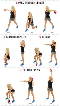 14 Kettlebell Calorie Blaster Workouts. Unlike the exercises with dumbbells or barbells, kettlebell exercises often involve large numbers of reps