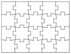 a puzzle piece template may come in handy in the classroom or, Powerpoint templates