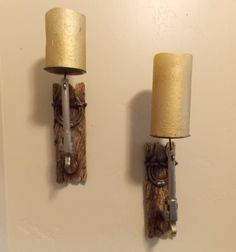 Rustic Style Wall Sconce (Set of 2)