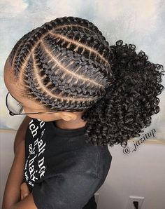 afro black girls 2019 Lovely Stunning Braids for Kids afro black girls # Braids africaines enfants Braided Hairstyles For Teens, Natural Hairstyles For Kids, Braided Hairstyles For Black Women, African Braids Hairstyles, Teen Hairstyles, Little Girl Hairstyles, Braid Hairstyles, African Hairstyles For Kids, Protective Hairstyles