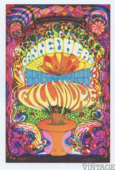 Bill Graham 139 Postcard Ad Back Canned Heat Gordon Lightfoot 1968 Oct 3